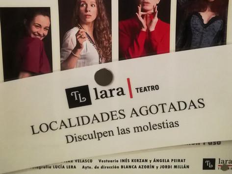 LOCALIDADES AGOTADAS 5ª SEMANA CONSECUTIVA