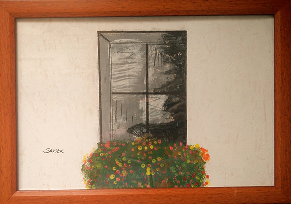 Window and planter
