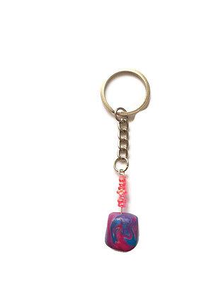 Purple keychain