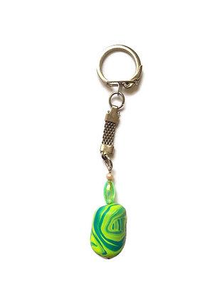 Lemon-green keychain