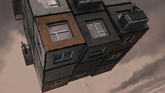 """""""Dimensions"""" by Alex Andreev (painting to 3d)"""