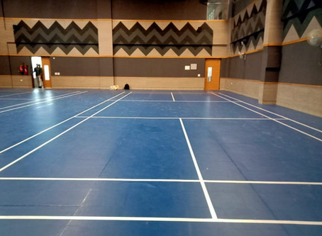 Badminton Floors for Indoor