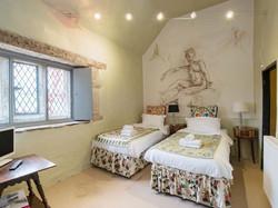 Twin bedroom _ The Manor House, Alport, nr. Bakewell