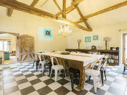 Dining room _ Harthill Hall - Cokaynes, Alport, nr. Bakewell 2
