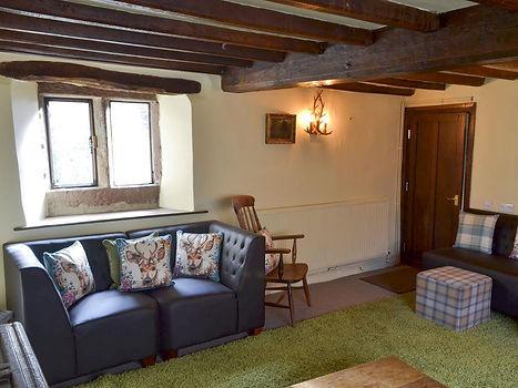 Living room _ The Old Angel, Winster 2.j