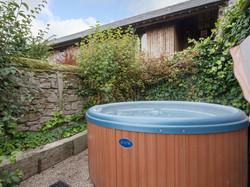 Hot tub _ Harthill Hall - Cokaynes, Alport, nr. Bakewell