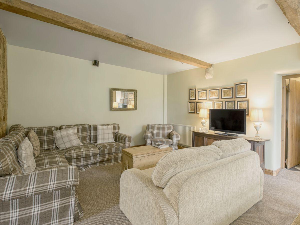 Living room_dining room _ Harthill Hall - De Ferrers, Alport, nr. Bakewell