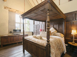 Four Poster bedroom _ The Manor House, A