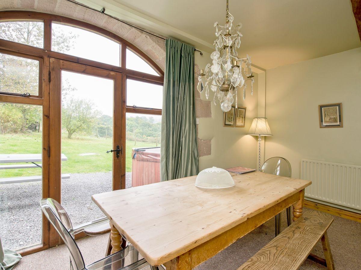 Dining Area _ Harthill Hall - De Ferrers, Alport, nr. Bakewell