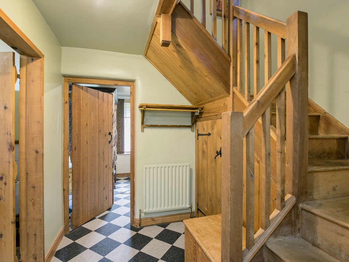 Stairs _ Harthill Hall - De Ferrers, Alport, nr. Bakewell