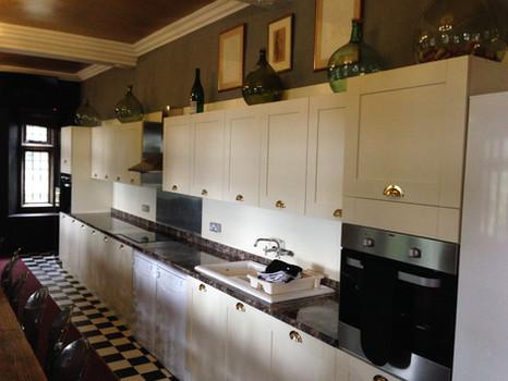 Riber Hall Kitchen Dining Room