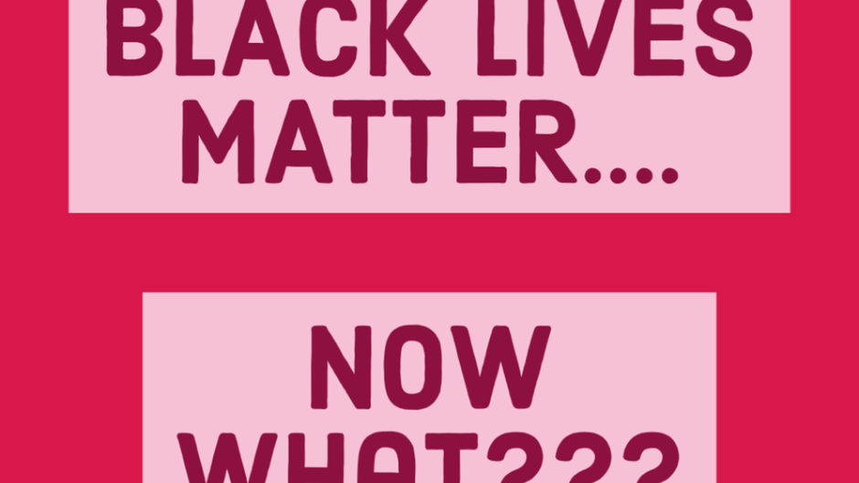 Black lives matter...NOW WHAT???