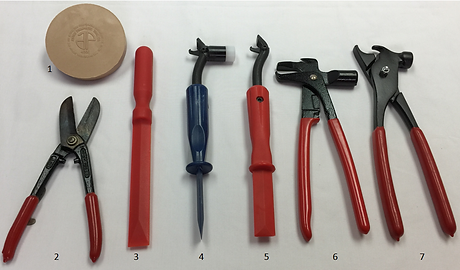 WHEEL WEIGHT TOOLS, GARAGE TOOLS, WHEEL WEIGHTS, PLIERS