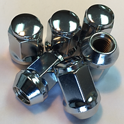 LUG NUTS, WHEEL NUT, CHROME NUT