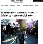 Commande Reporterre / novembre 2020