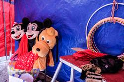 Mickey, la famille et le cirque