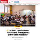 Publication web Marianne