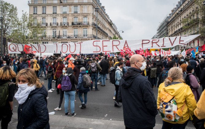FRANCE - 1st May - Labour Day