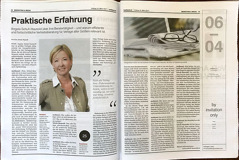 Medianet Interview Angela Schuh-Haunold