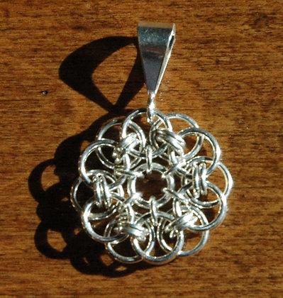 Sterling Silver Celtic Medallion