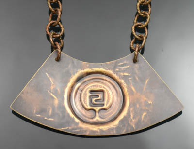 IOGKF Mon in Distressed Bronze (L)