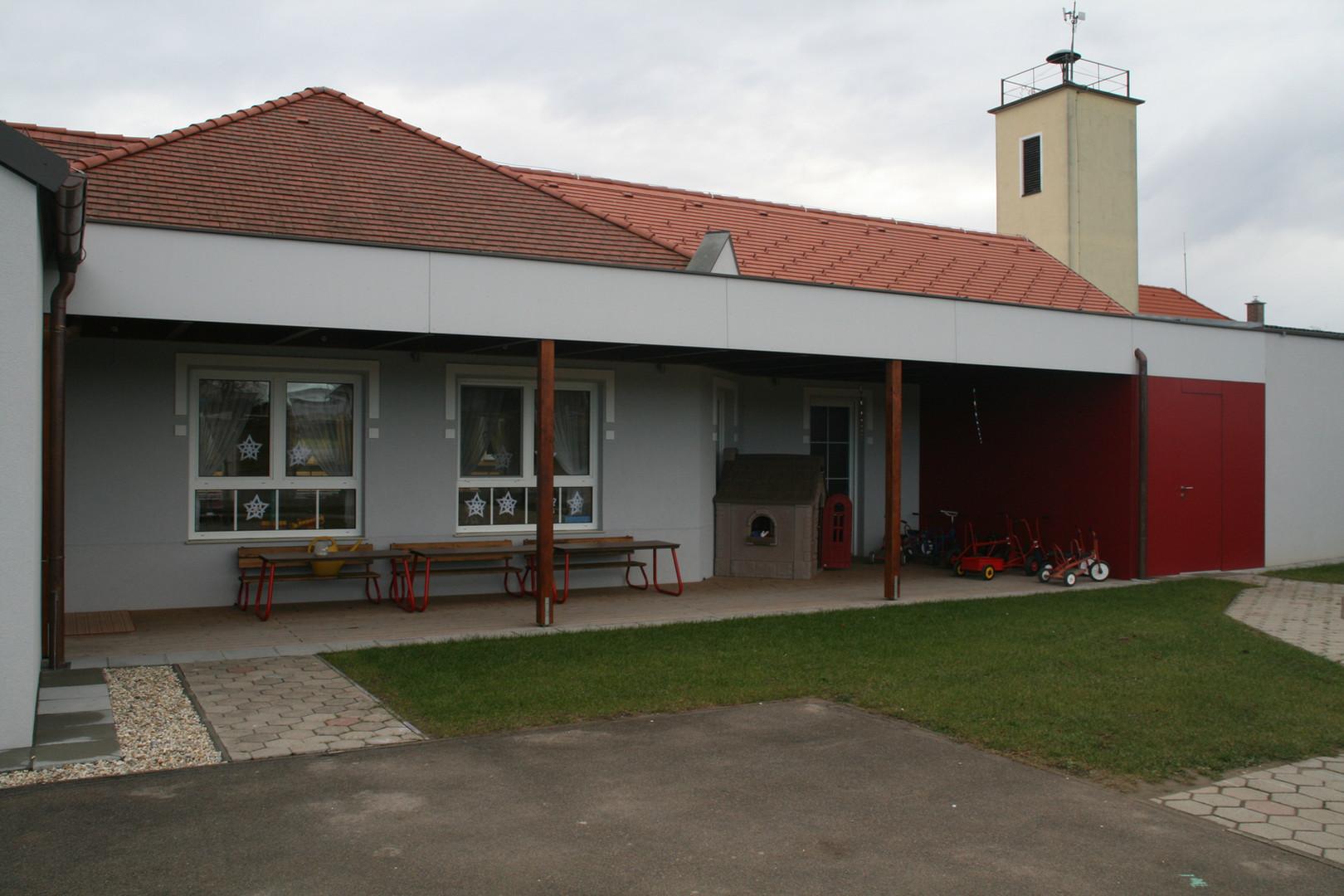 Kindergarten Zubau Hausbrunn