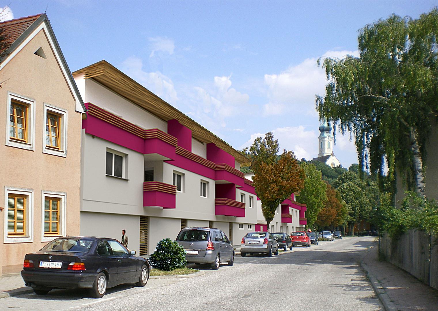 Wohnhausanlage Mistelbach Mistelsteig -