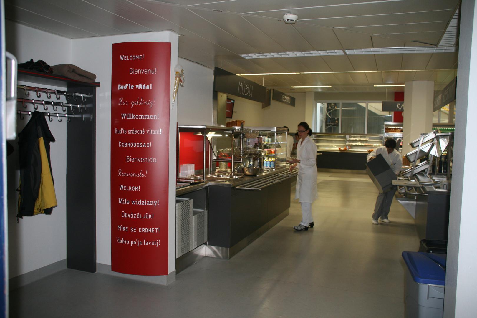 LKH Mistelbach Speisesaal Umgestaltung (