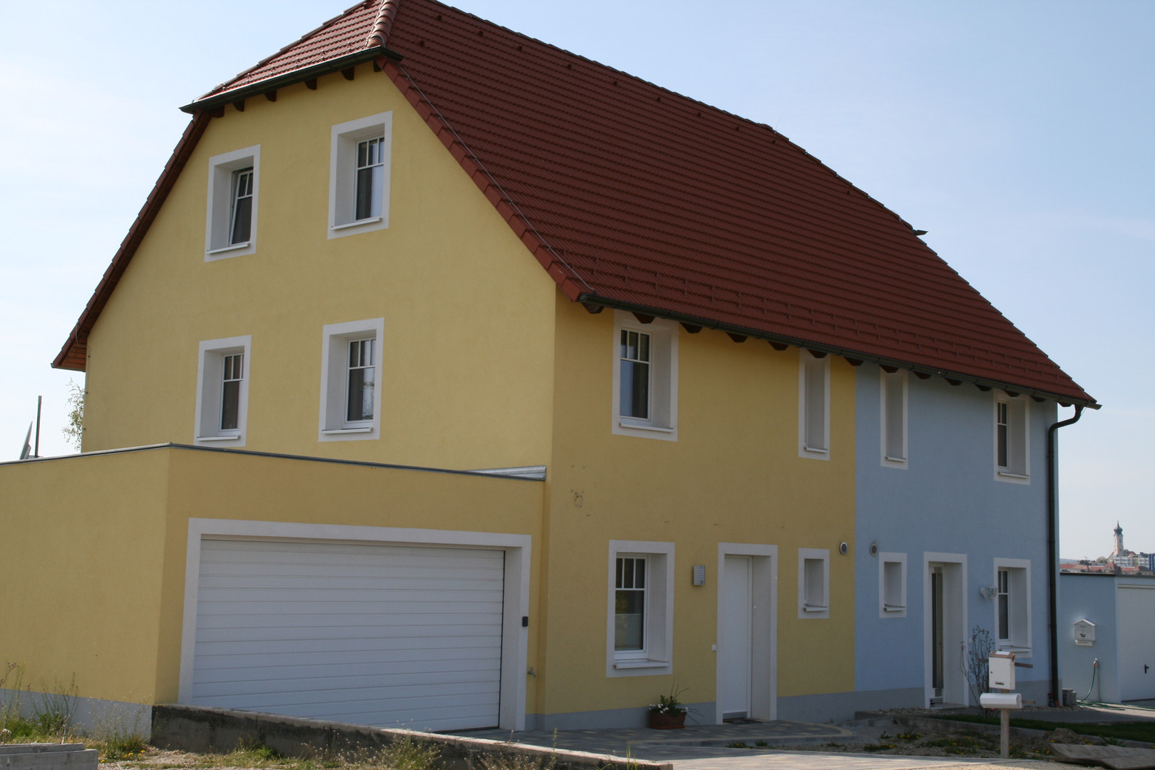 Passivdoppelhaus Ebendorf