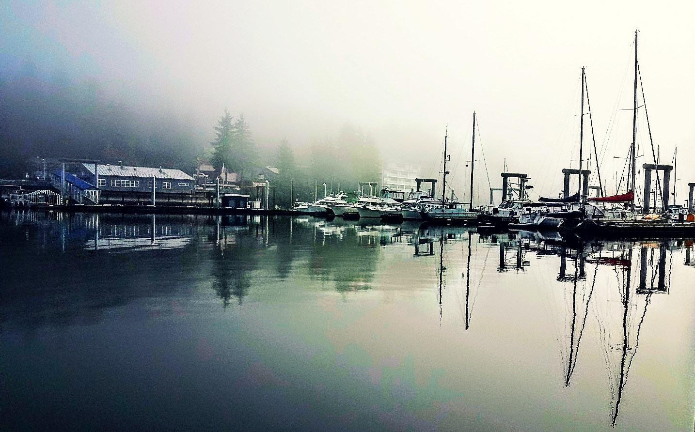 Statter Harbor in Auke Bay, Juneau Alaska