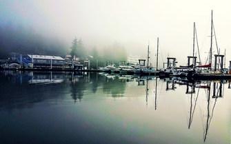 Statter Harbor in Auke Bay, Juneau Alaska