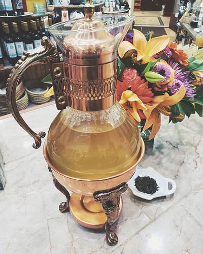 Sencha Tea at Harbor Tea & Spice