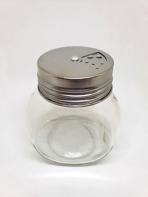 Spice Jar Round with Shaker Lid