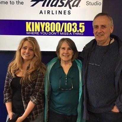 Capital Chat KINY Radio Show, Leslie Rubbo, Janice McCann, Michael McCann