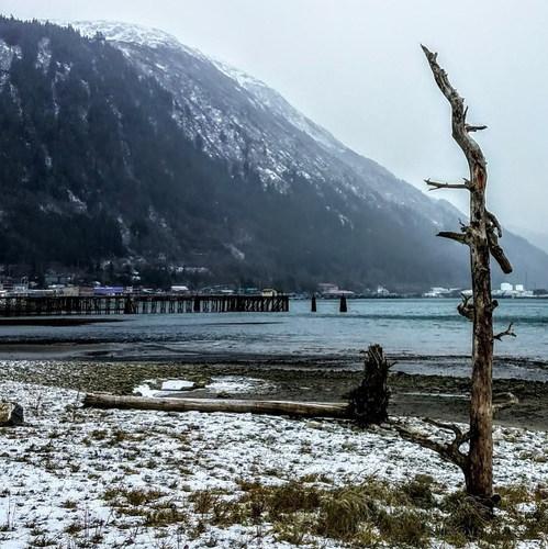 Mount Juneau view from Seawalk
