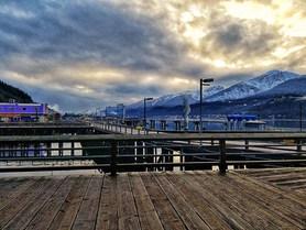 Juneau Seawalk, Downtown Juneau Alaska