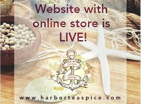 WEBSITE is LIVE!