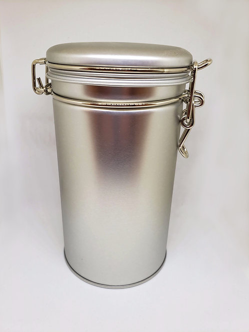 Tea Tin Canister - Stainless Steel