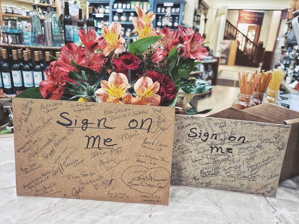 2018 Tourist Signatures