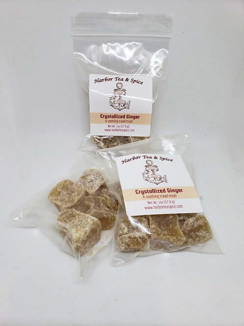 Crystallized Ginger - 1oz Bag