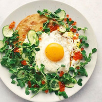 Curried Chickpea Pancakes