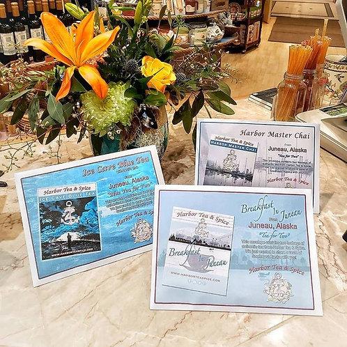 "Harbor Tea & Spice ""Tea for Two"" Envelopes"