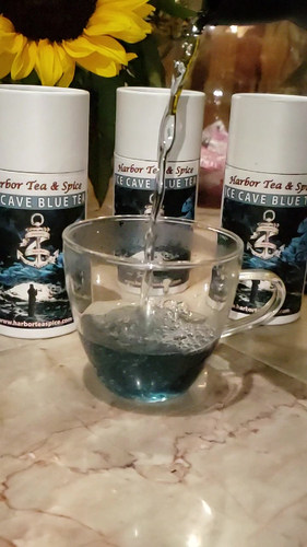 Ice Cave Blue Tea Video