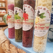 Harbor Tea & Spice Botanical Sugars