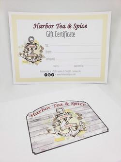 Harbor Tea & Spice Gift Card
