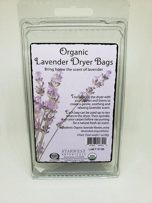 Dryer Bags - Organic Lavender