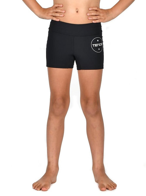 Tennyson Kids Spandex Shorts - Black