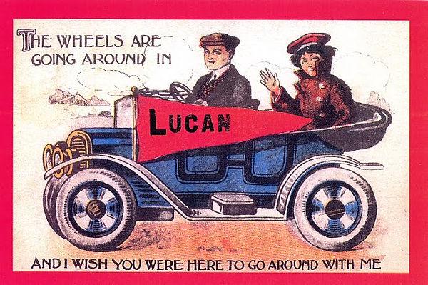 Lucan, MN 1914 postcard