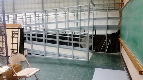 Ramp room/ Storage room off of N/S hallway