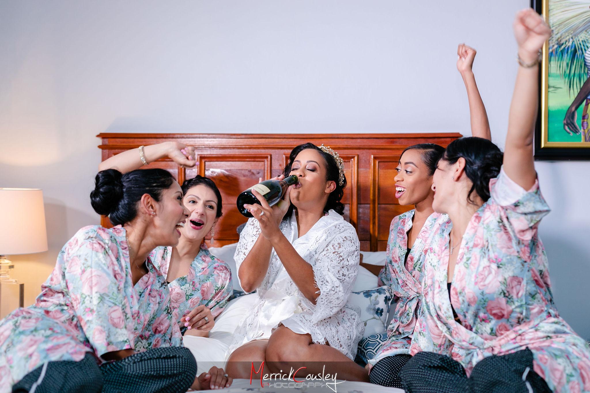 Bridal Party Endless Summer Villa Montego Bay Jamaica
